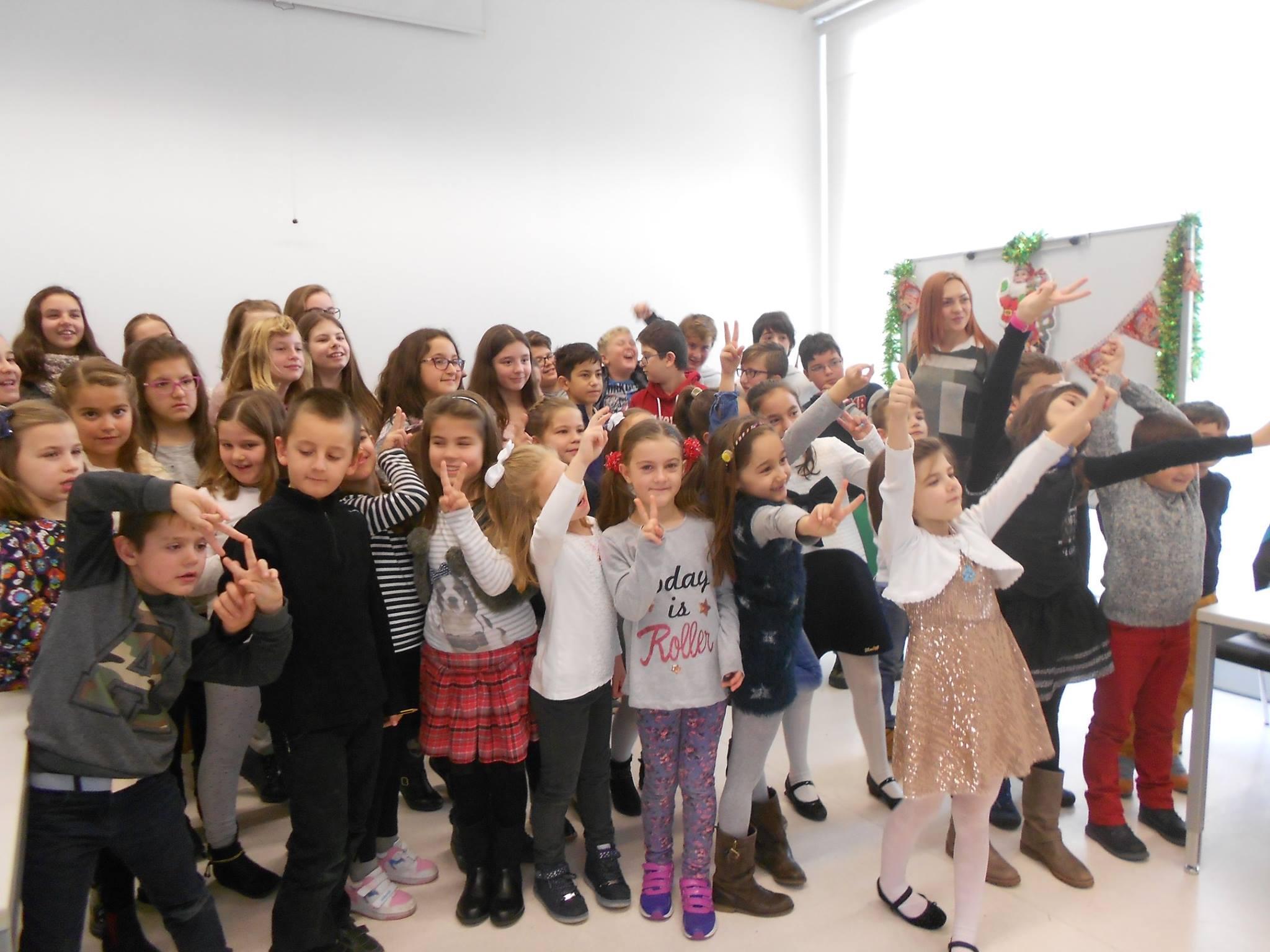 Ашли с ученици в Испания